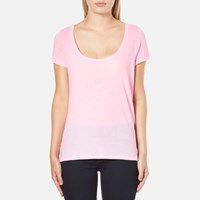 Polo Ralph Lauren Women's Scoop Neck T Shirt Pink Tailor Rose