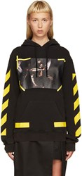 Off White Black 7 Opere Hoodie