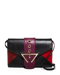 Sara Battaglia Natalie Clutch Ruby Red
