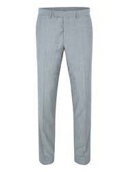 Paul Costelloe Slim Fit Grey Melange Suit Trousers