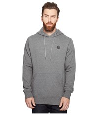 Volcom Single Stone Pullover Dark Grey Men's Fleece Gray