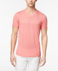 Inc International Concepts Men's Heathered T Shirt Created For Macy's Peony Garden