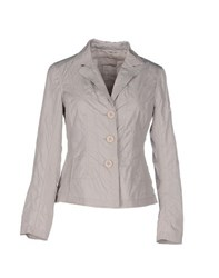 Add Suits And Jackets Blazers Women Grey