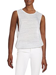 Threads 4 Thought Mila Ruched Hem Tank Marble