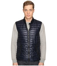 Duvetica Cario Quilted Down Vest Blue Navy