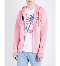 Billionaire Boys Club Space Beach Hotel Cotton Hoody Pink