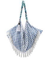 6 Shore Road Sunset Beach Bag Blue