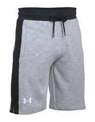 Under Armour Ua Sportstyle Fleece Graphic Shorts Overcast Gray