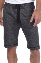 2Xist Men's 2 X Ist Terry Shorts Black Heather