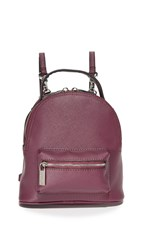 Deux Lux Annabelle Convertible Mini Backpack Burgundy