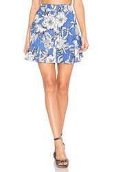 Lovers Friends Fountain Skirt Blue