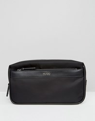 Boss Hugo Digital Wash Bag Black