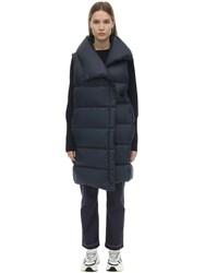Falke Nylon Down Vest Navy