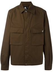 Paul Smith Ps By Cargo Jacket Green