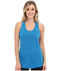 New Balance Performance Merino Tank Top Sonar Women's Sleeveless Blue