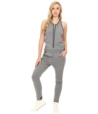 G Star Us Ciaran Suit In Thec Ultimate Stretch Jersey Grey Heather Women's Jumpsuit And Rompers One Piece Gray