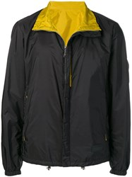 Prada Zipped Lightweight Jacket Black