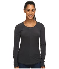 Marmot Molly Long Sleeve Dark Steel Women's Long Sleeve Pullover Brown