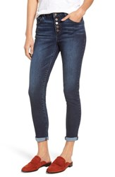 Wit And Wisdom Button Fly Ankle Skinny Jeans