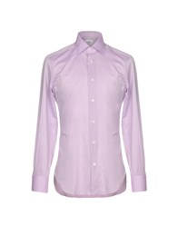 Mazzarelli Shirts Light Purple
