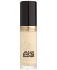 Too Faced Born This Way Super Coverage Multi Use Sculpting Concealer Almond Very Fair With Golden Undertones