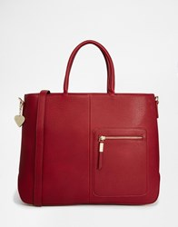 Marc B Tote Bag Rust