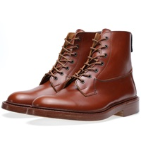 Trickers Tricker's Burford Derby Boot Marron Antique