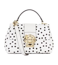 Dolce And Gabbana Bee Embellished Bag Female White