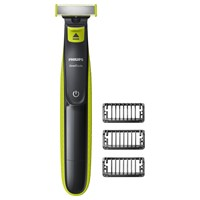 Philips Qp2520 25 Oneblade Styler And Shaver Lime