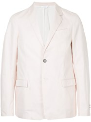Jil Sander Lightweight Blazer Pink And Purple