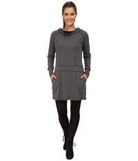 Exofficio Javana Hoodie Dress Black Women's Dress