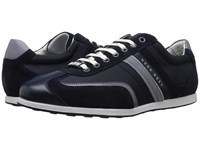 Hugo Boss Stiven By Boss Green Dark Blue 2 Men's Lace Up Casual Shoes