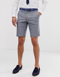 Only And Sons Checked Suit Shorts Grey