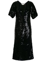 Manning Cartell Sea Stars Sequined Dress Black