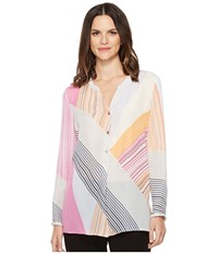 Nic Zoe All Angles Top Multi Women's Clothing
