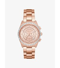 Vail Rose Gold Tone Watch