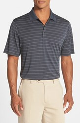 Cutter And Buck Men's 'Franklin' Drytec Polo Onyx White