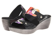 Helle Comfort Gemini Multi Black Ferroll Women's Sandals