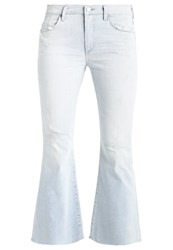 Citizens Of Humanity Fleetwood Flared Jeans Wout Light Blue Denim