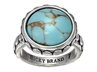 Lucky Brand Silver And Turquoise Ring Silver Ring