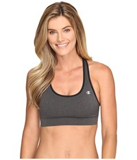 Champion Absolute Bra Granite Heather Black Women's Bra Brown