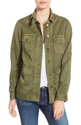 Current Elliott Women's 'Commander' Military Jacket Army Green