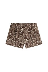 The Kooples Animal Print Shorts Animal Prints