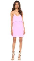 Rory Beca Fina Deep V Back Dress Flamingo