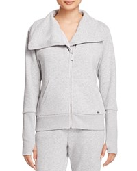 Ugg Pauline Zip Sweatshirt Seal Heather