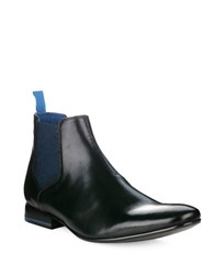 Ted Baker Hourb 2 Chelsea Leather Boots Black Leather