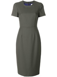Paul Smith Tailored Midi Dress Green