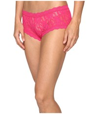Hanky Panky Signature Lace Boyshort Tickled Pink Women's Underwear