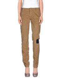Galliano Trousers Casual Trousers Women Camel