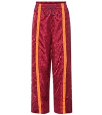 Fenty By Rihanna Front Tearaway Trackpants Red